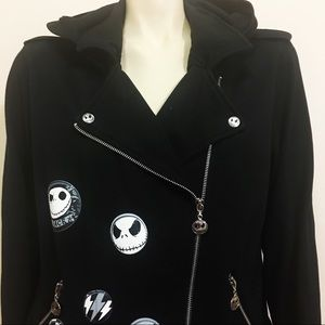 Nightmare  Before Christmas Moto Jacket/Hoodie